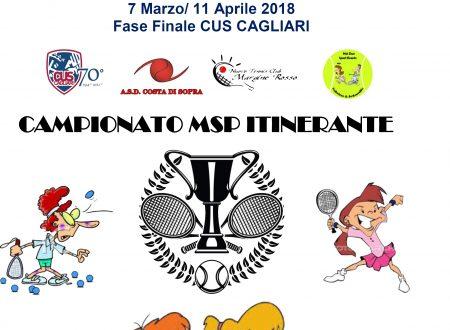 CAMPIONATO MSP ITINERANTE TENNIS