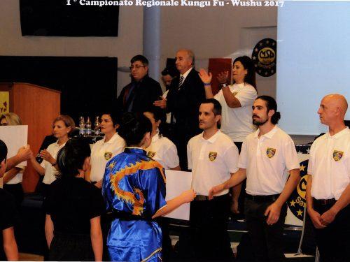 1° CAMPIONATO REGIONALE KUNG FU – WUSHU 2017
