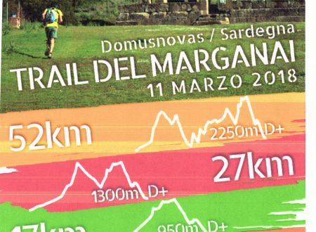TRAIL DEL MARGANAI 11 MARZO 2018
