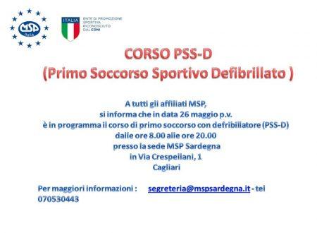 Primo Soccorso Sportivo Defibrillato (PSS-D)