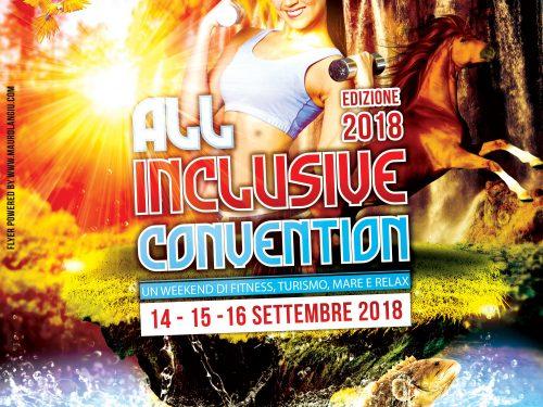 All inclusive Convention – 14/15/16 settembre 2018