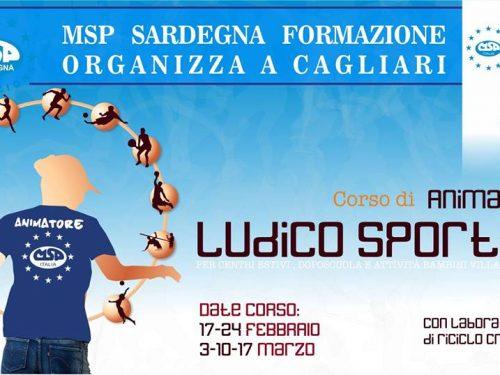 """CORSO MSP ITALIA -SARDEGNA: """"OPERATORE LUDICO-SPORTIVO"""""""