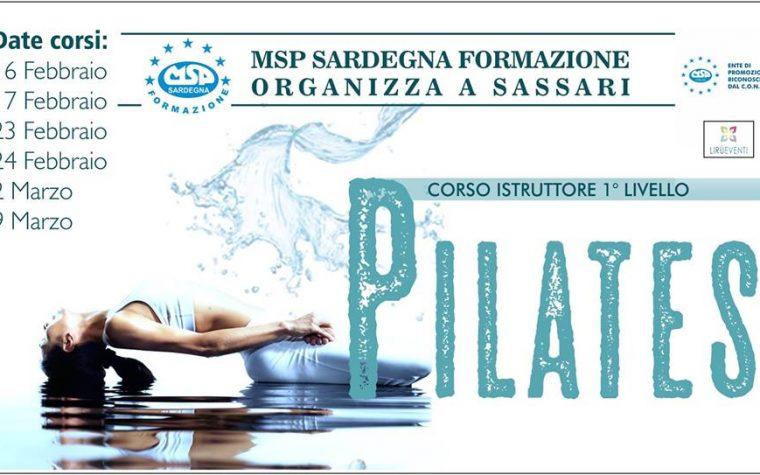 """Corso MSP Italia """"istruttore 1°livello Pilates"""""""
