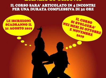 CORSO DI FORMAZIONE  GIUDICE DI GARA DANZA SPORTIVA