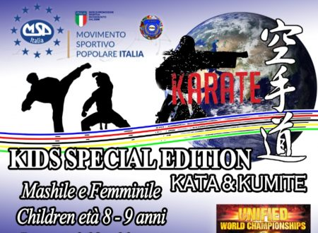 MSP ITALIA International Karate Cup