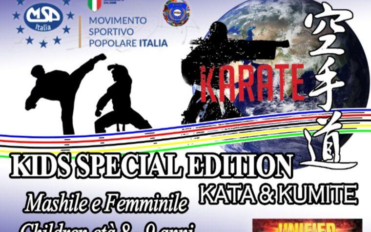 MSP ITALIA International Karate Cup
