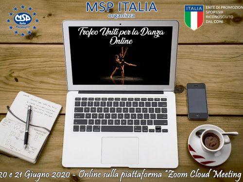 """Trofeo """"Uniti per la Danza"""" Online"""